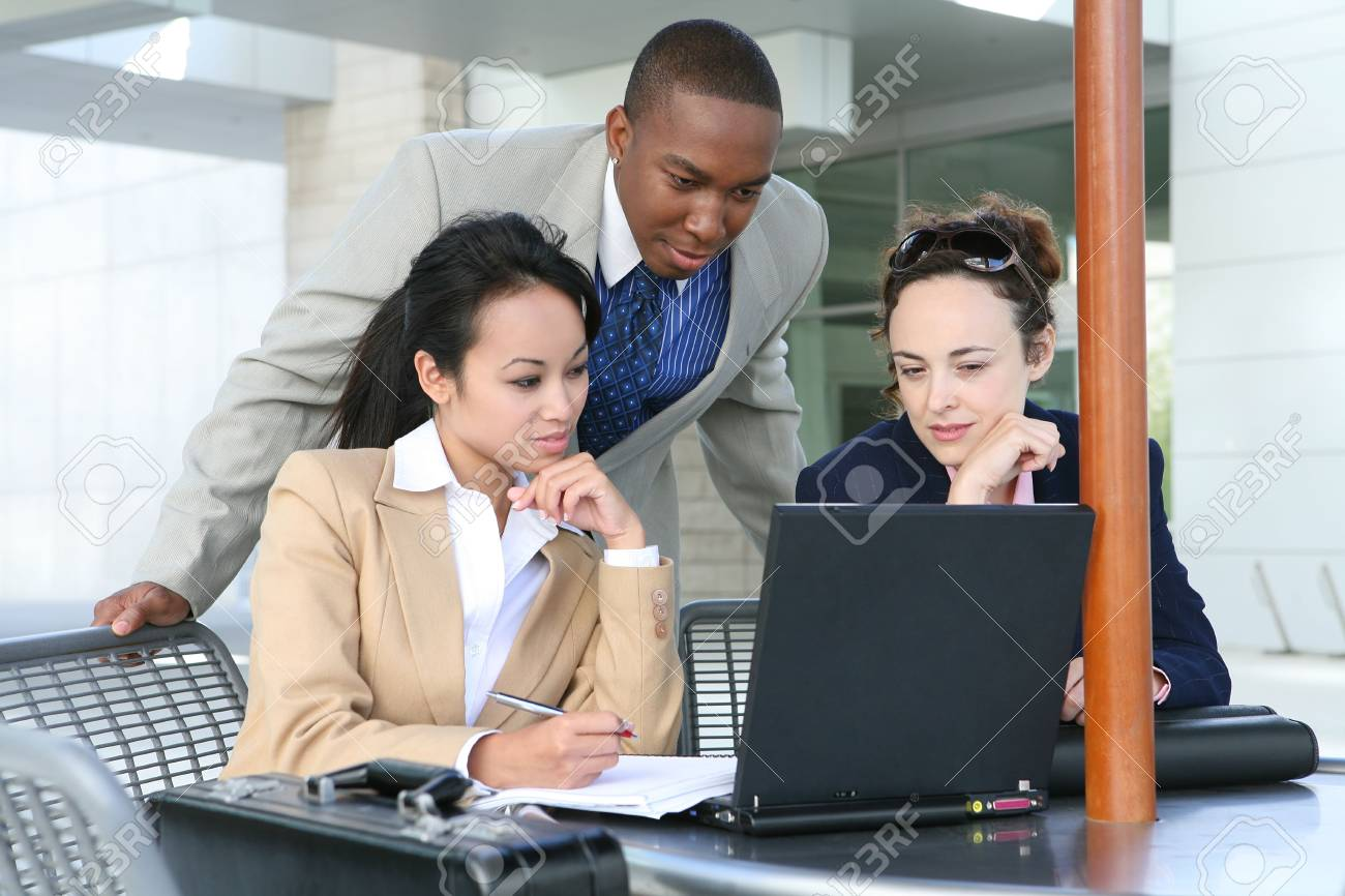 A diverse business group or team with several nationalities Stock Photo - 1343247