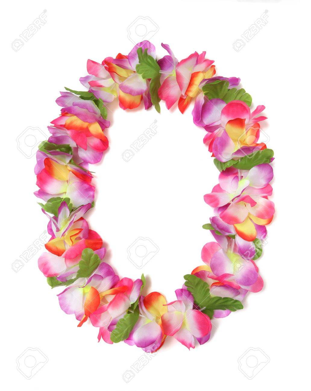 A colorful hawaiian lei with bright colorful flowers stock photo a colorful hawaiian lei with bright colorful flowers stock photo 2712798 izmirmasajfo