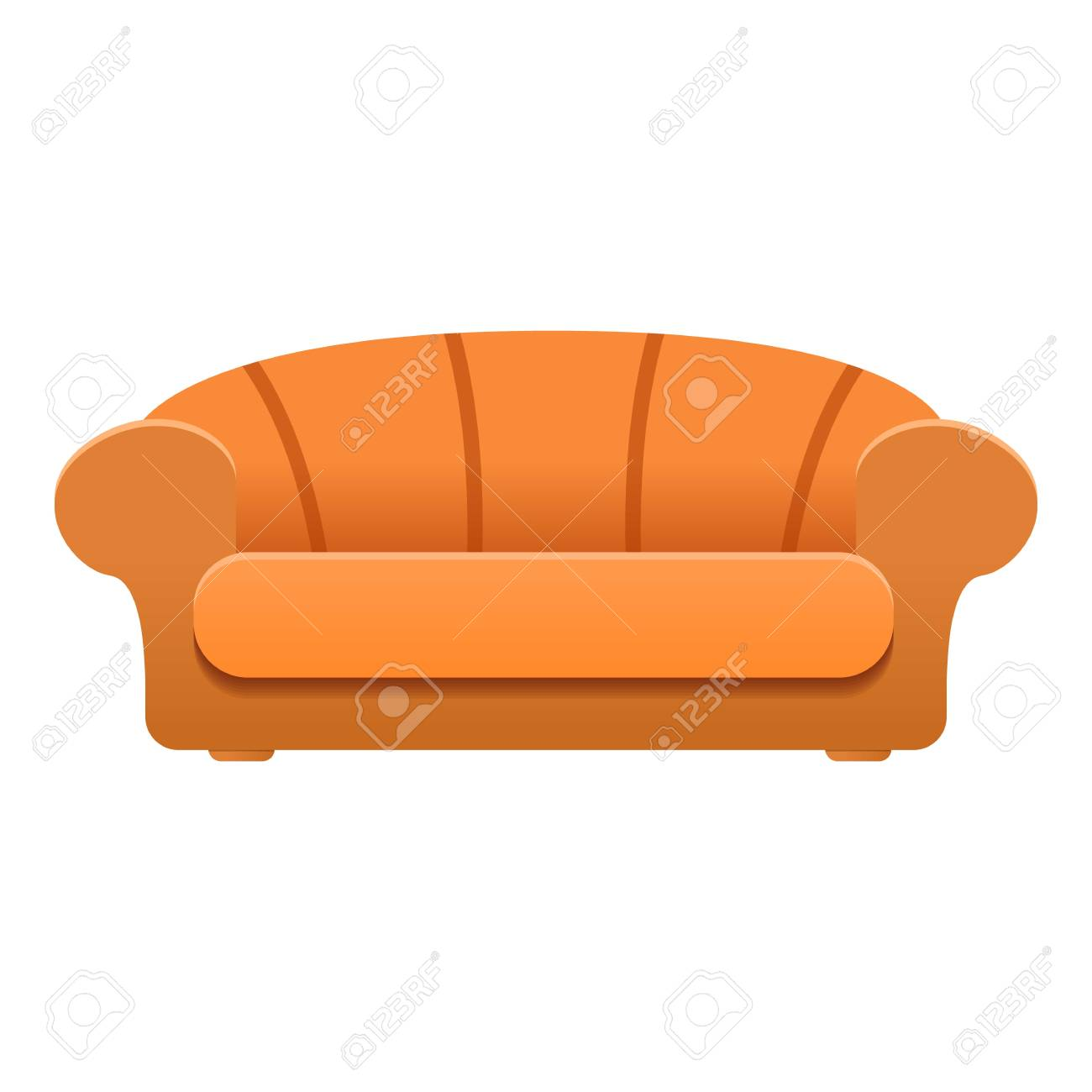 Luxury Sofa Icon Cartoon Of Luxury Sofa Vector Icon For Web