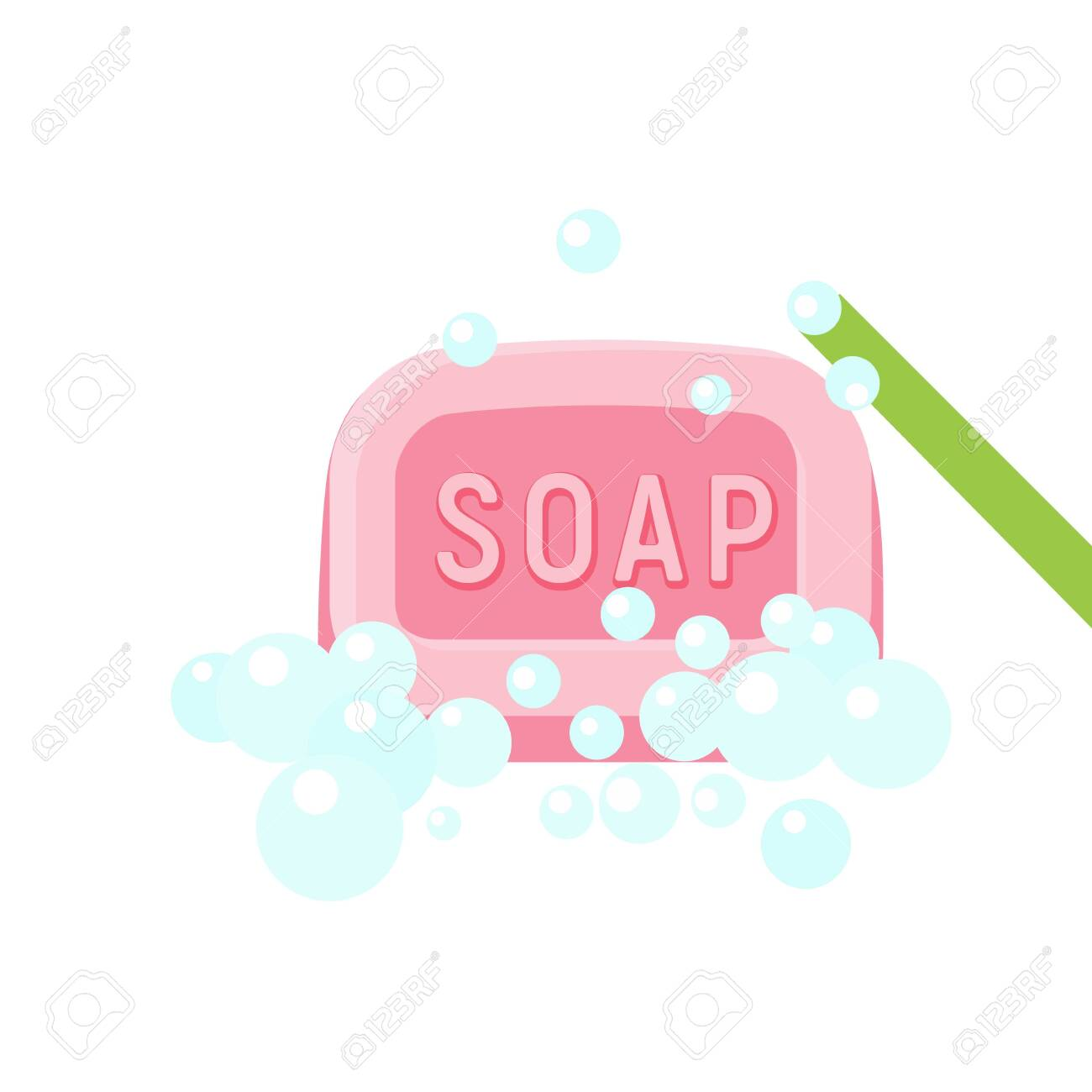 wash soap icon flat illustration of wash soap vector icon for royalty free cliparts vectors and stock illustration image 124444068 wash soap icon flat illustration of wash soap vector icon for