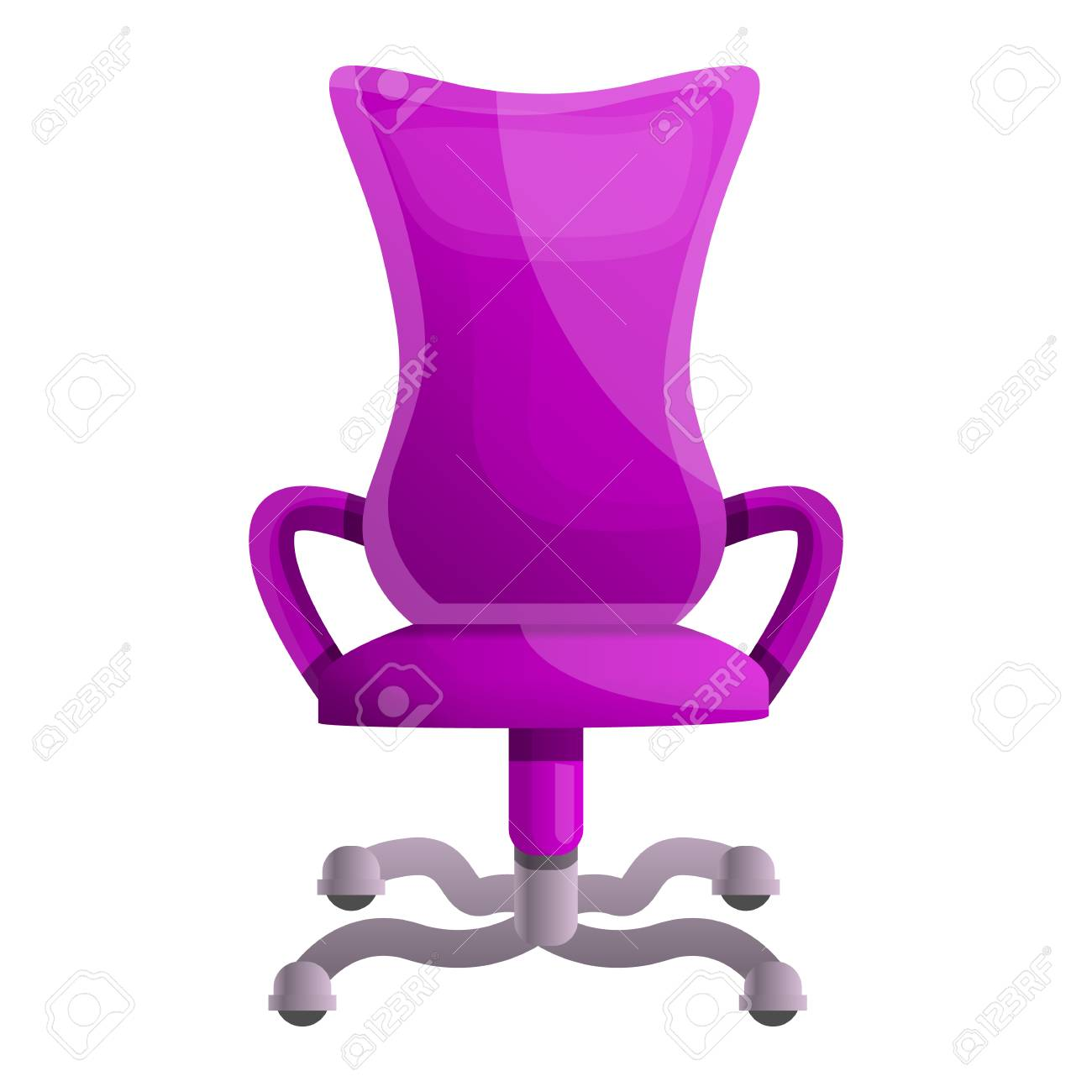 Outstanding Pink Desk Chair Icon Cartoon Of Pink Desk Chair Icon For Web Alphanode Cool Chair Designs And Ideas Alphanodeonline