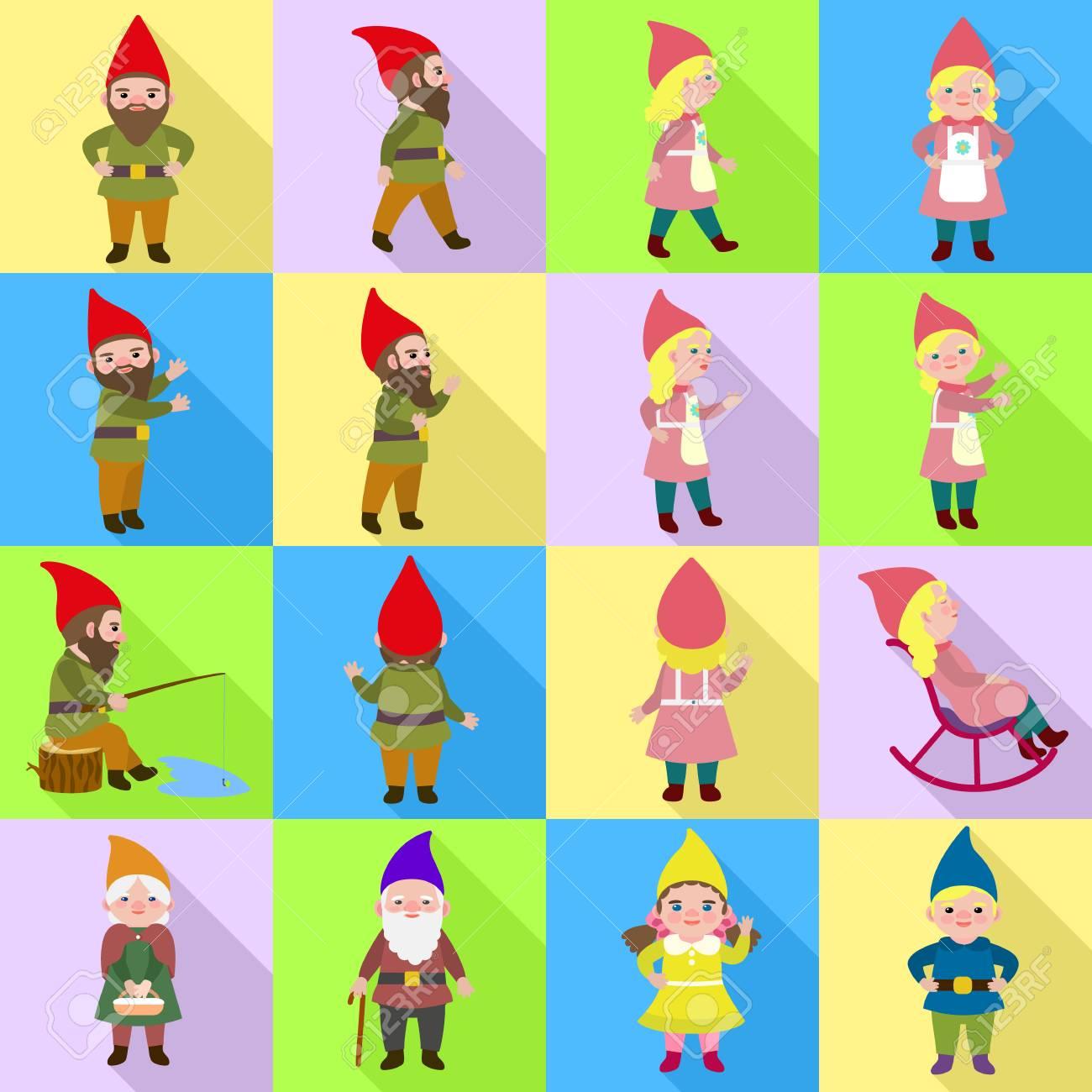 Gnome icons set  Flat set of gnome icons for web design