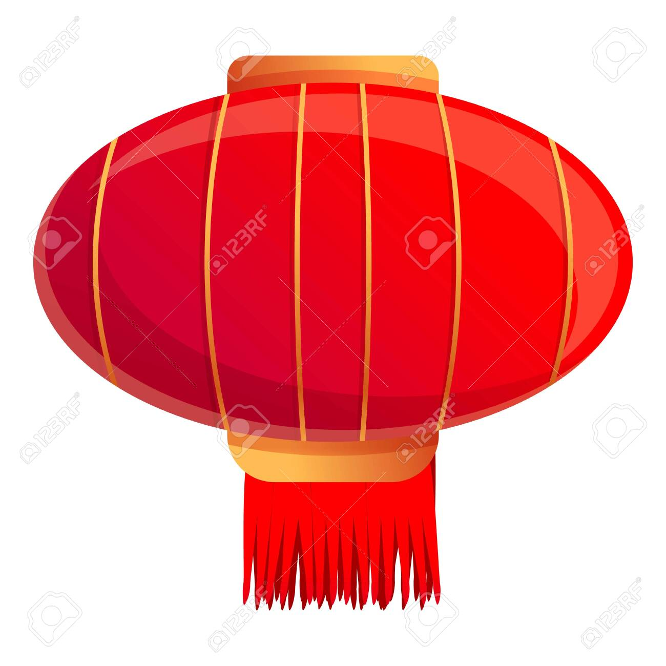 Street Chinese Lantern Icon Cartoon Of Street Chinese Lantern Royalty Free Cliparts Vectors And Stock Illustration Image 143841147