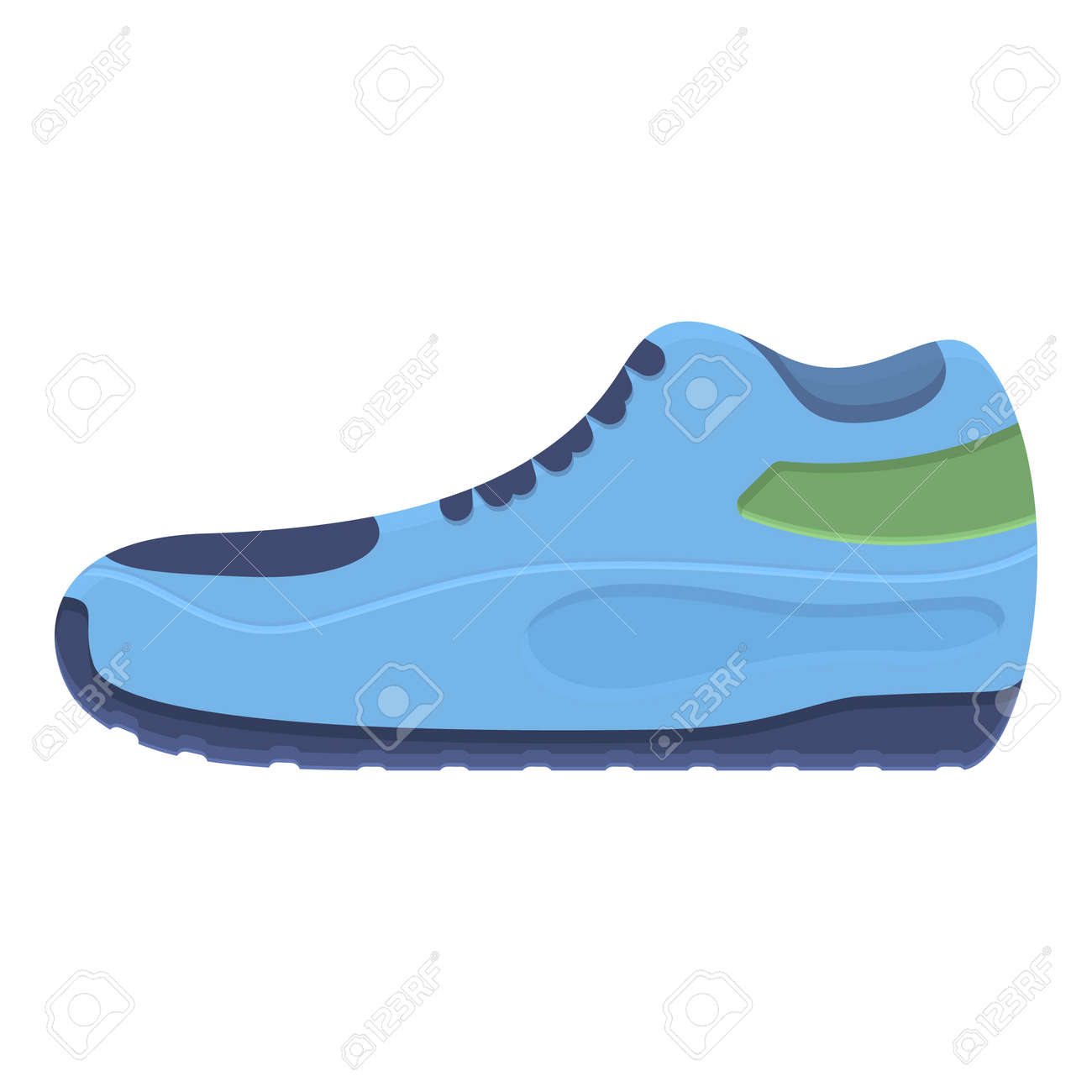 Winter sneakers icon. Cartoon of winter sneakers vector icon for web design isolated on white background - 156753297