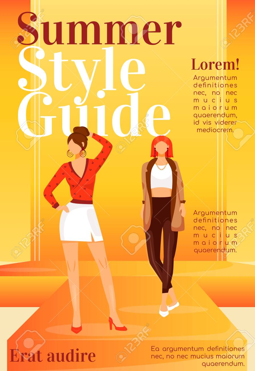 Fashion News Magazine Cover Template Runway Models Outfits Royalty Free Cliparts Vectors And Stock Illustration Image 137683811