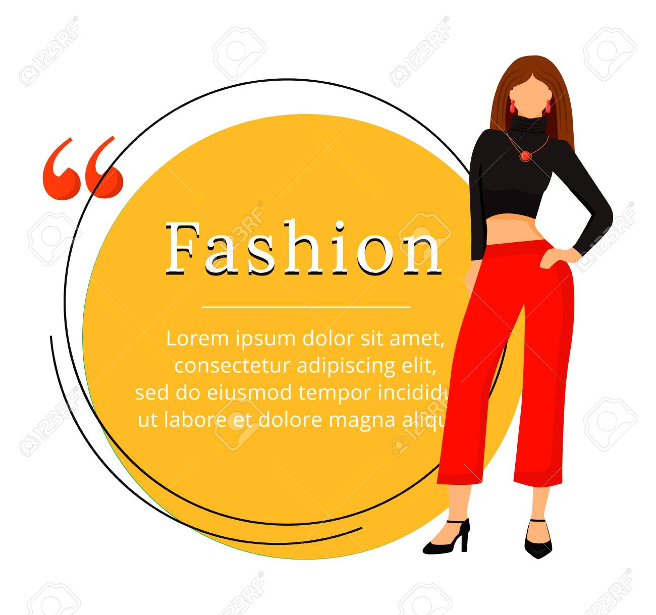 Fashion Designer Flat Color Vector Character Quote Runway Model Royalty Free Cliparts Vectors And Stock Illustration Image 138516900