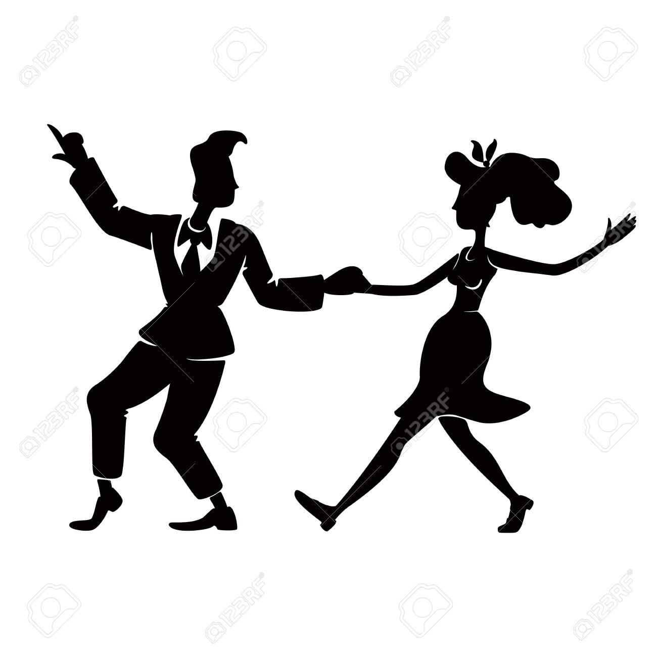 Dancing clipart vintage, Dancing vintage Transparent FREE for download on  WebStockReview 2020