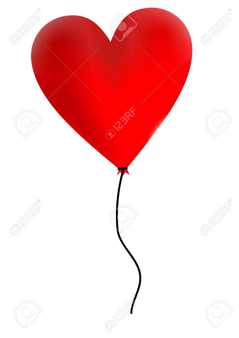 heart balloon Stock Photo - 792943
