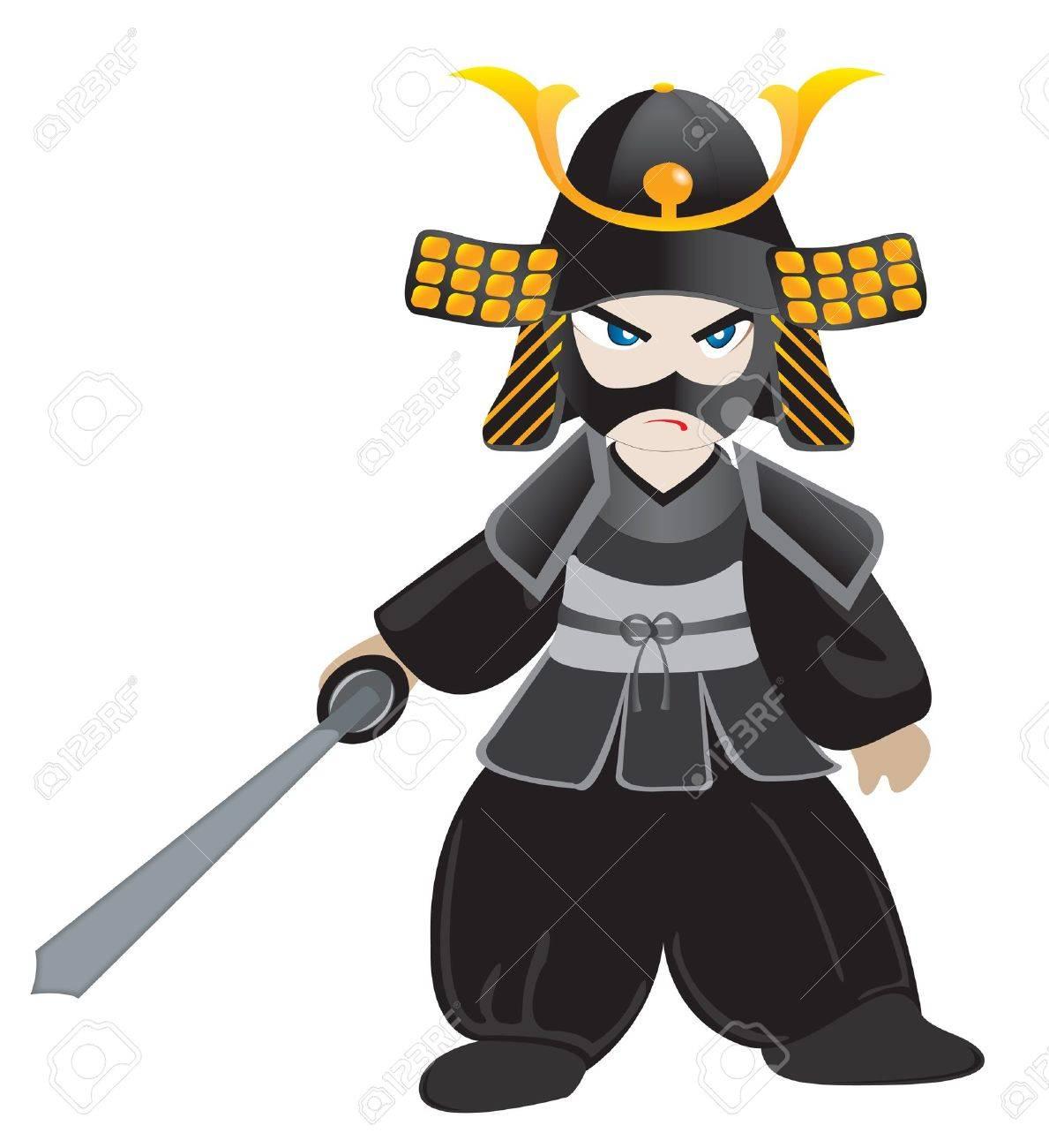 little samurai Stock Vector - 19754888