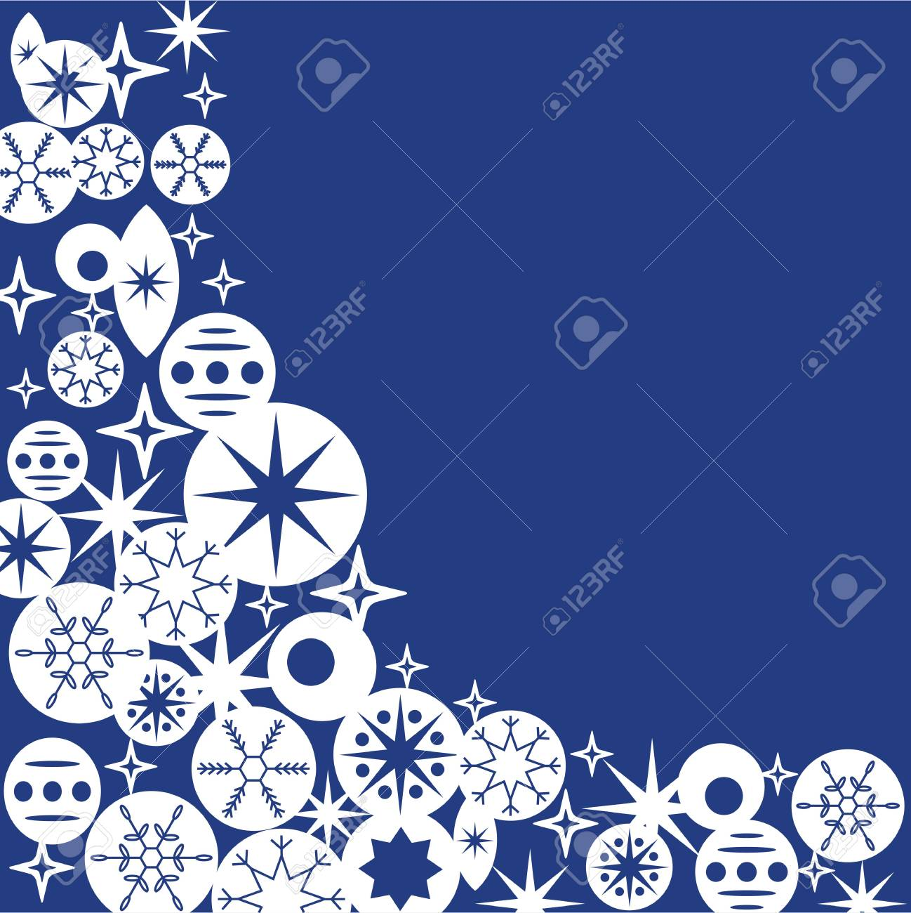 template for christmas card invitation backgrounds with space
