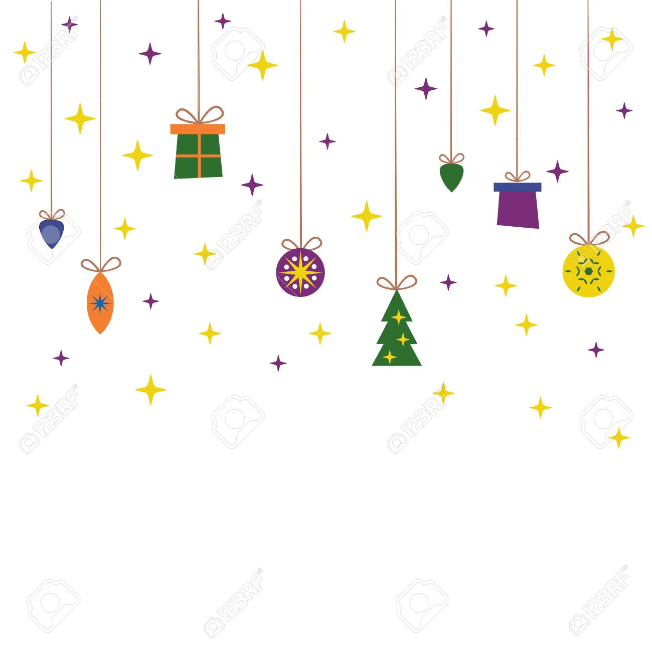 Template For Christmas Cards Invitations Backgrounds And More