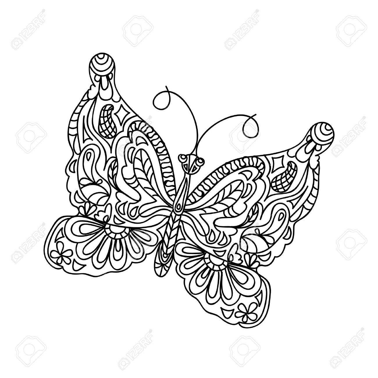 Beste Süße Schmetterlinge Malvorlagen Ideen ...