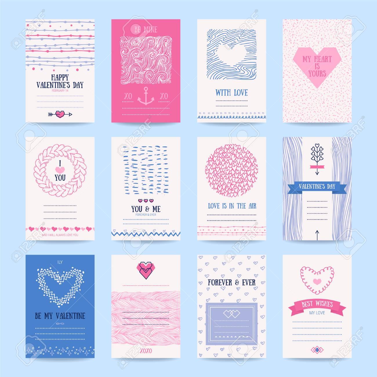 Valentines Day Wedding Invitation Romantic Love Cards Hipster