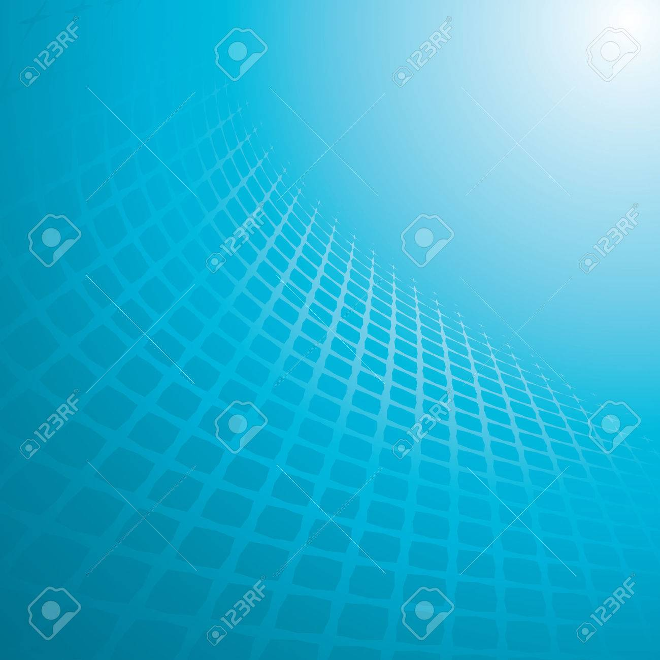 blue abstract background, vector illustration Stock Vector - 4357133