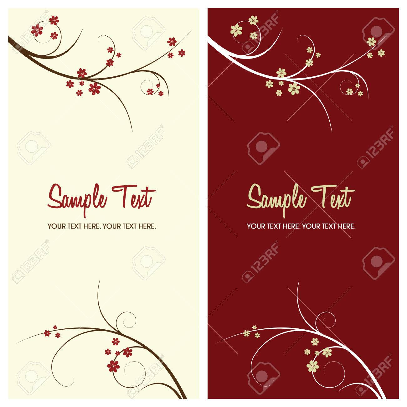 floral background with copy space, vector illustration Stock Vector - 4843543