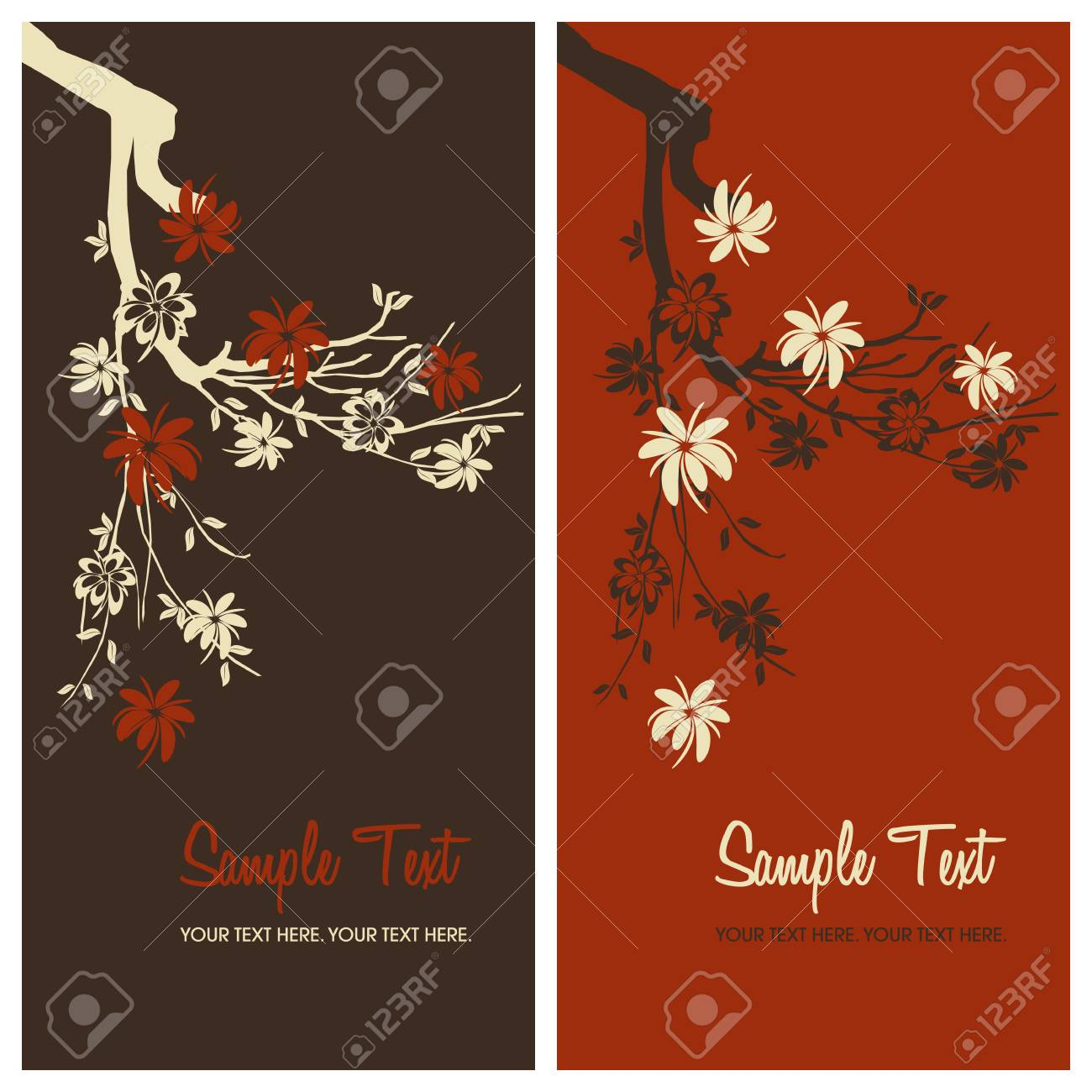 floral background with copy space, vector illustration Stock Vector - 5053808