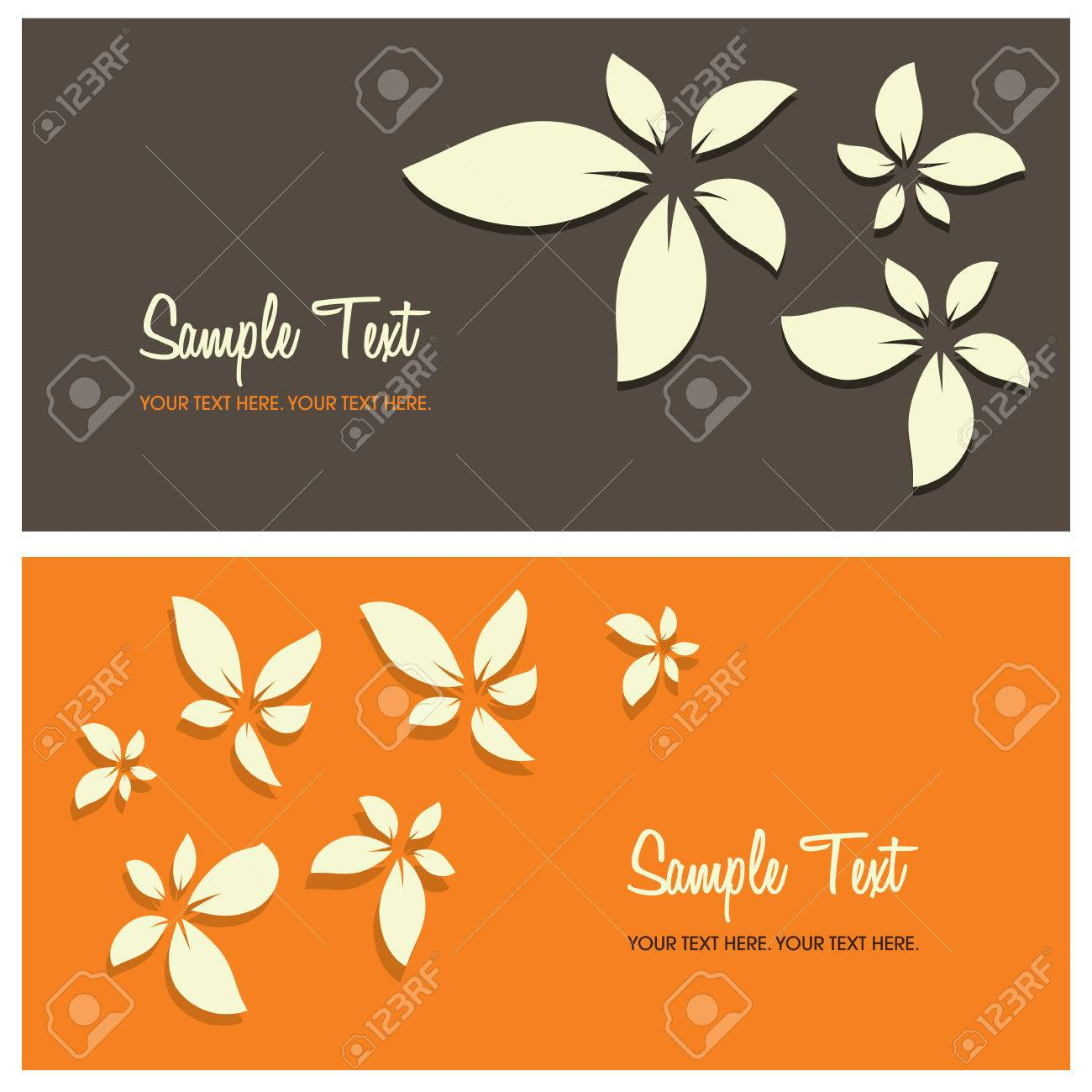 floral background with copy space, vector illustration Stock Vector - 5611292