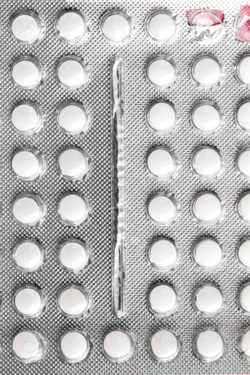 Download Gray Aluminum Blister With Small Round Pills And Two Empty Cells Stock Photo Picture And Royalty Free Image Image 140087136 Yellowimages Mockups