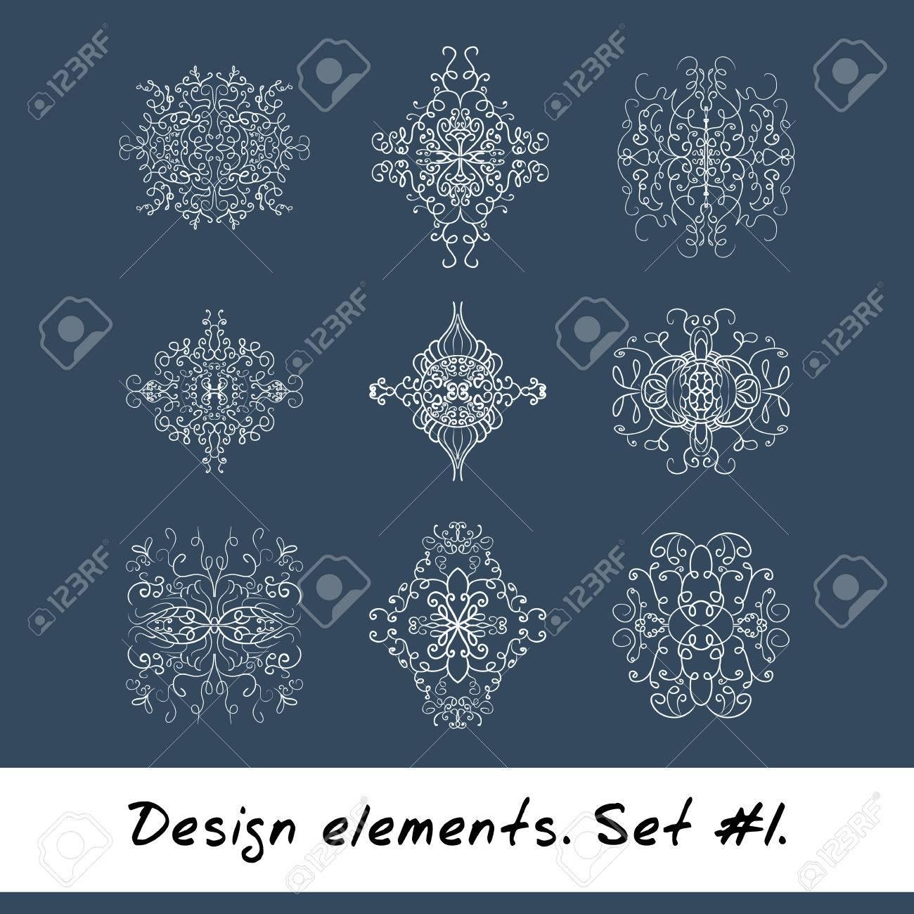 Round Element De Design Modele De Cercle De Couleur Blanche