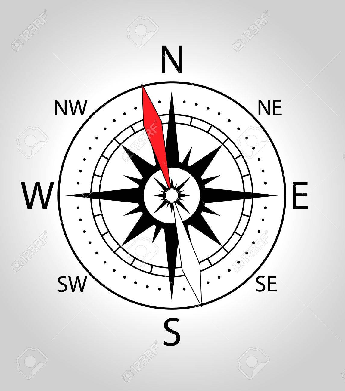Wind rose compass icon vector illustration in black and with wind rose compass icon vector illustration in black and with colors stock vector pooptronica