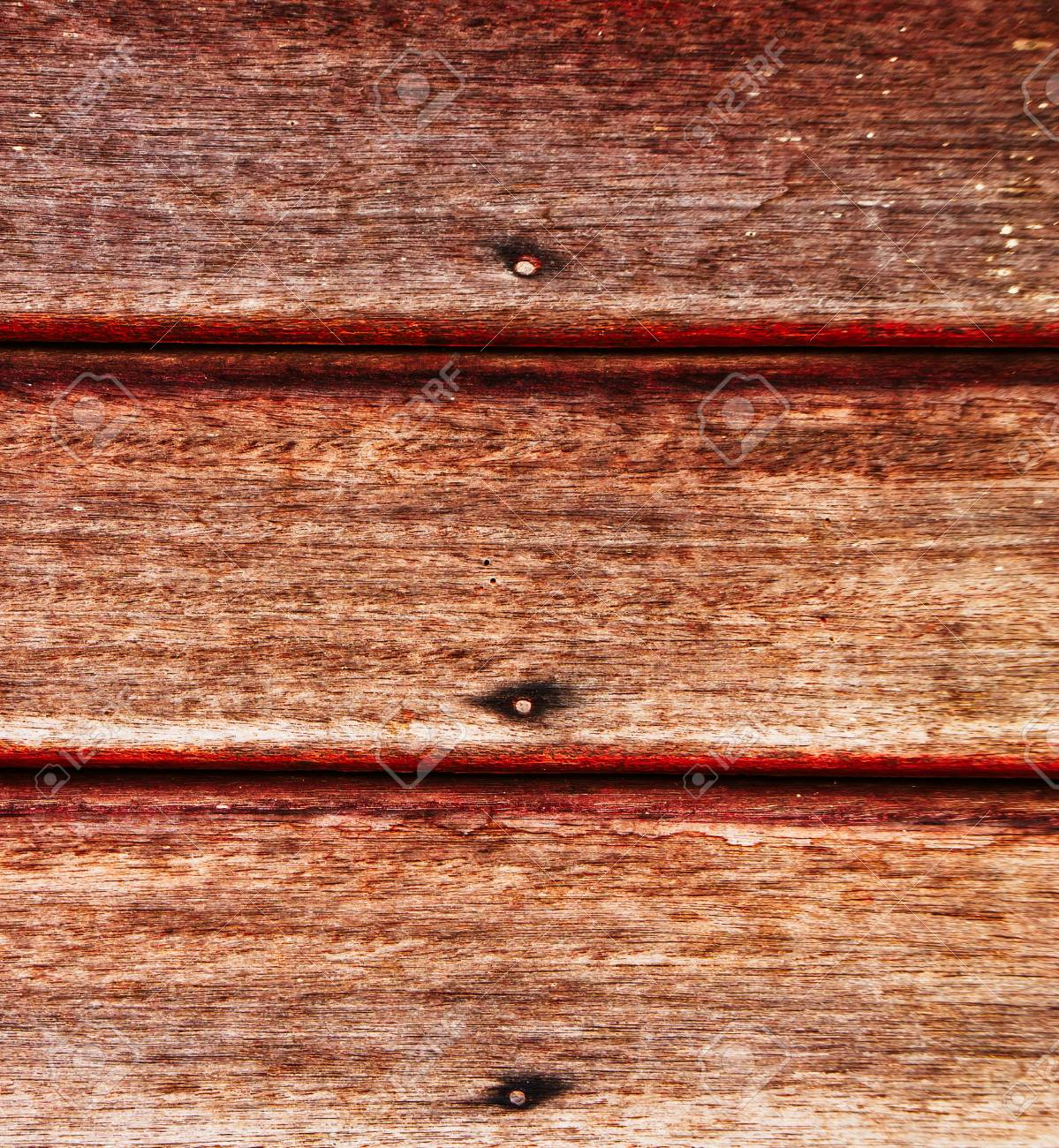 Old wooden wall with rusty nails Stock Photo - 9710145