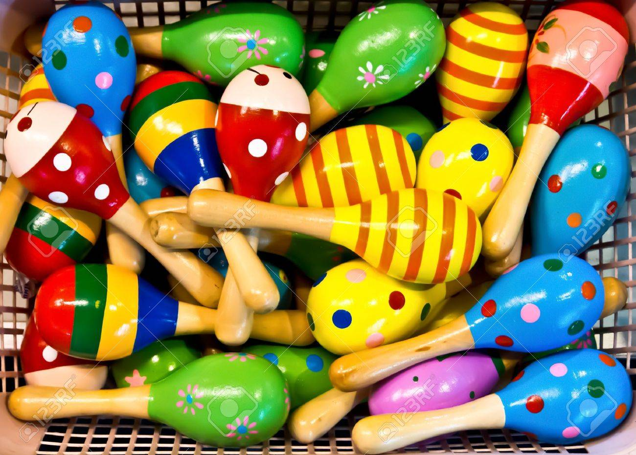 colorful maracas for sale stock photo picture and royalty free