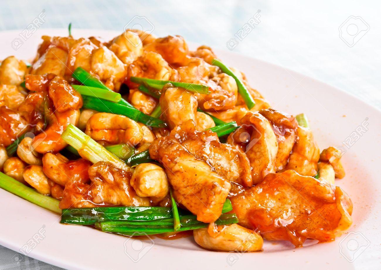 Chinese food chicken cashew nuts cashew nuts chicken sakura asian chicken and cashew nut stirfry recipe bbc food forumfinder Images