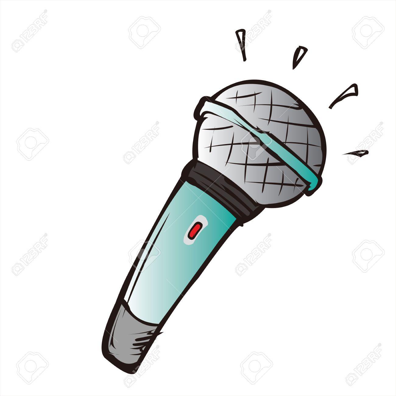 Dibujos Animados Del Micrófono