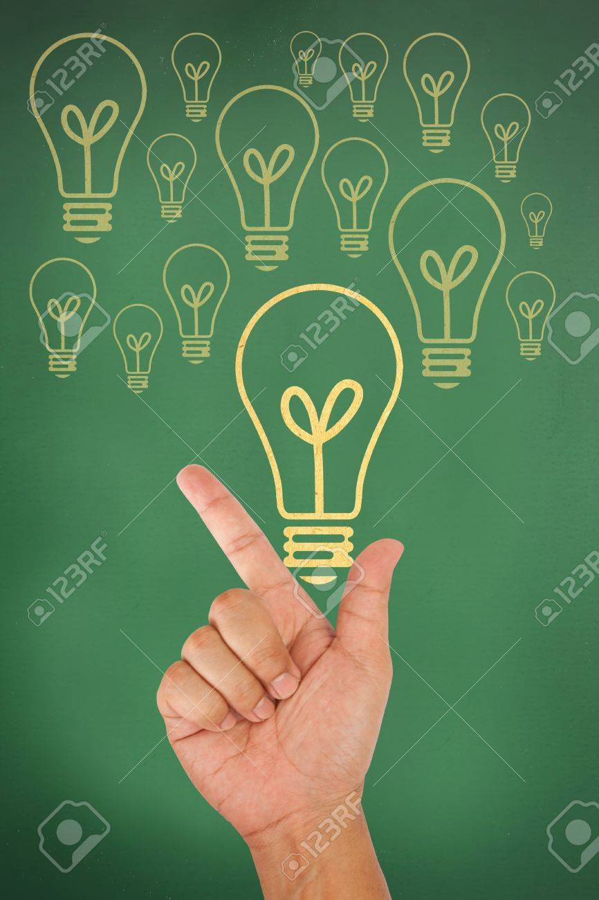 Hand hold paper texture light bulb as new idea concept Stock Photo - 13332619