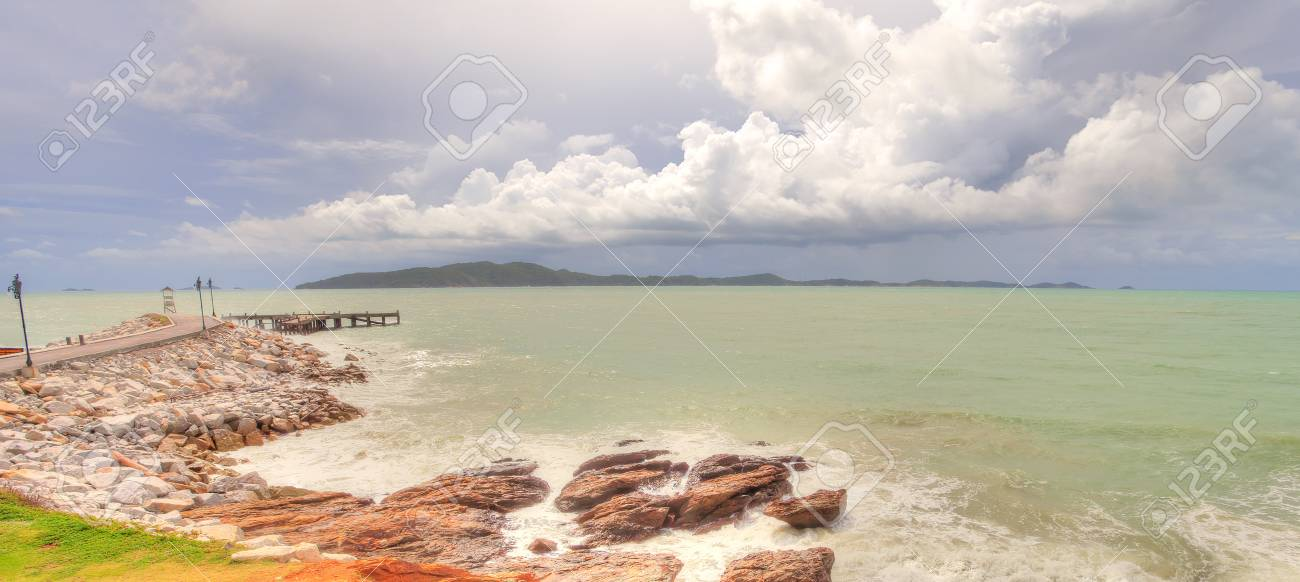 Seascape of Thailand Stock Photo - 15496520