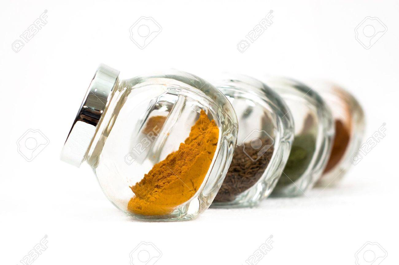 Spices in glass - 5344980