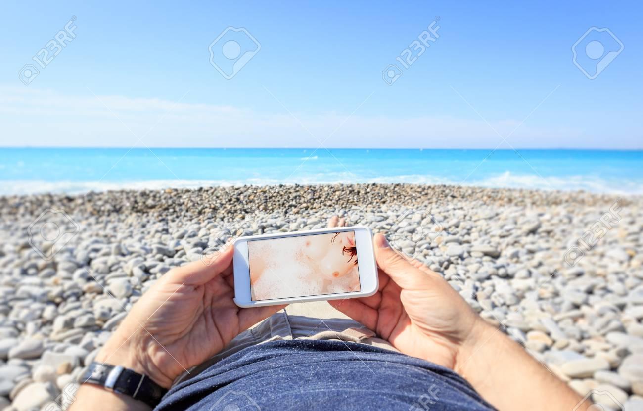 Porn Photo Beach