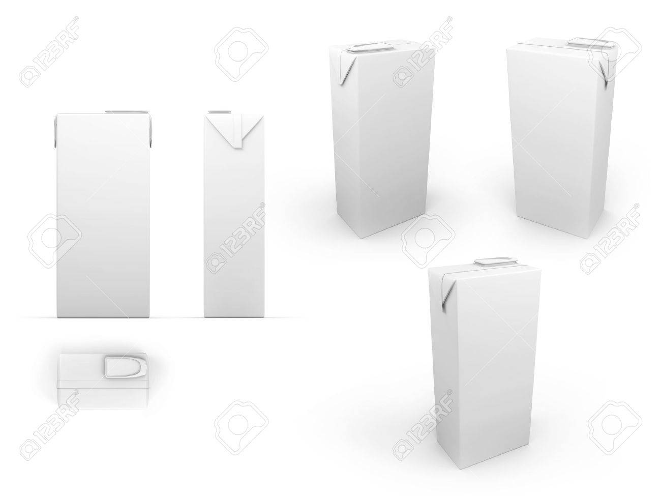 brick package isolated on white background, prepared as multiplier layer for color Stock Photo - 18059127