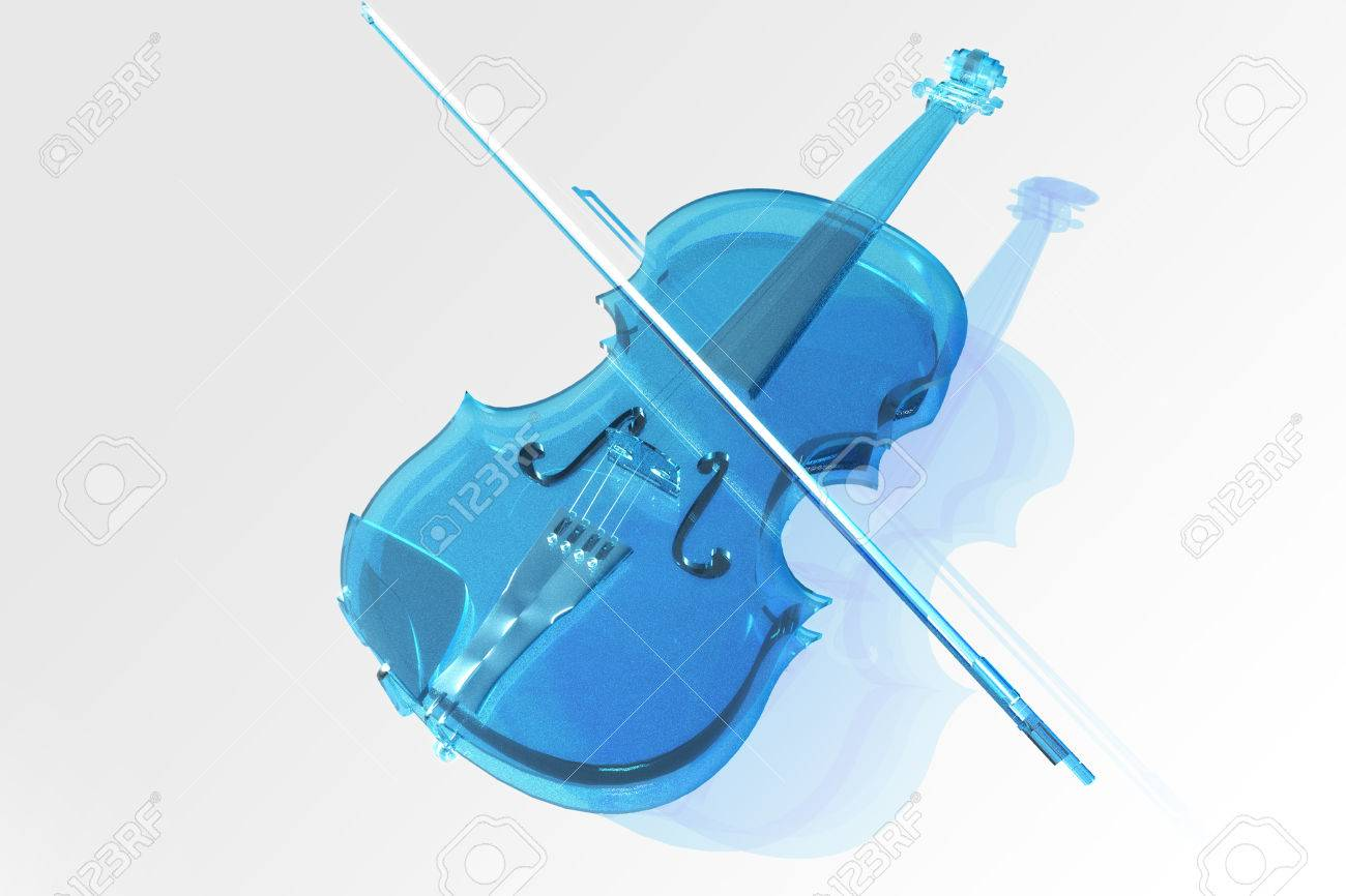 Hervorragend Die Geige Aus Glas Lizenzfreie Fotos, Bilder Und Stock Fotografie  BU79