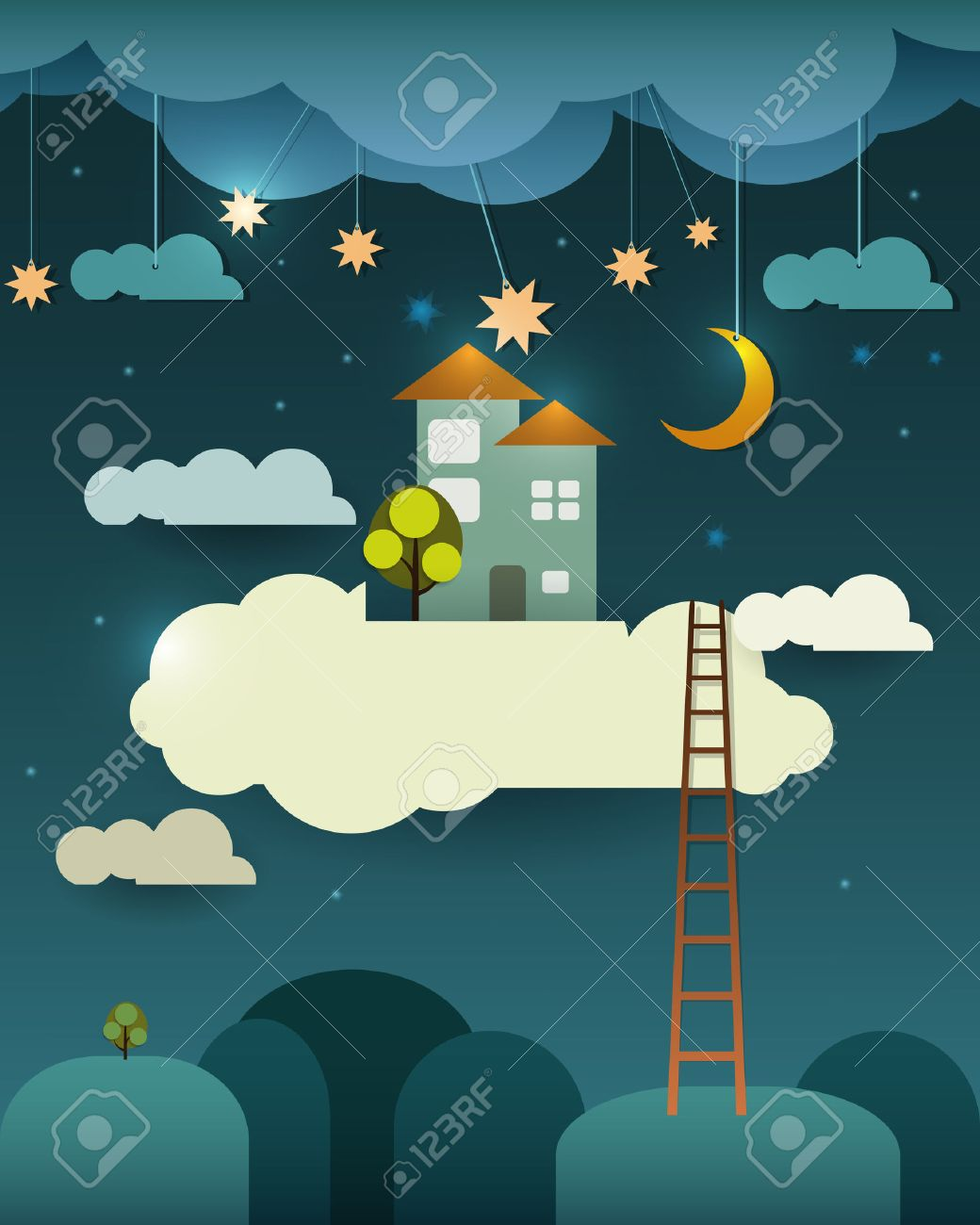 Реферат фантазии дом милый дом moon со звездами облака и небо в  Реферат фантазии дом милый дом moon со звездами облака и небо в ночное