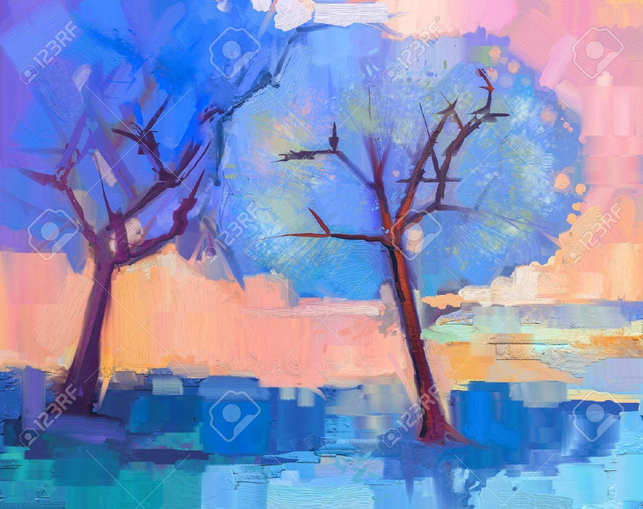 Creative Spring Season Painting