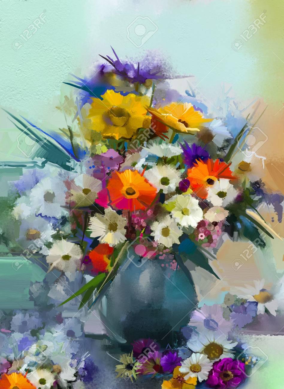 Très Vaso Con Fiori Foto Royalty Free, Immagini, Immagini E Archivi  XC67