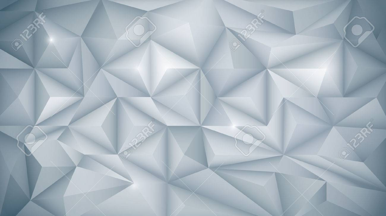 Vector Abstract 3D Geometric Polygon Polygonal Triangle