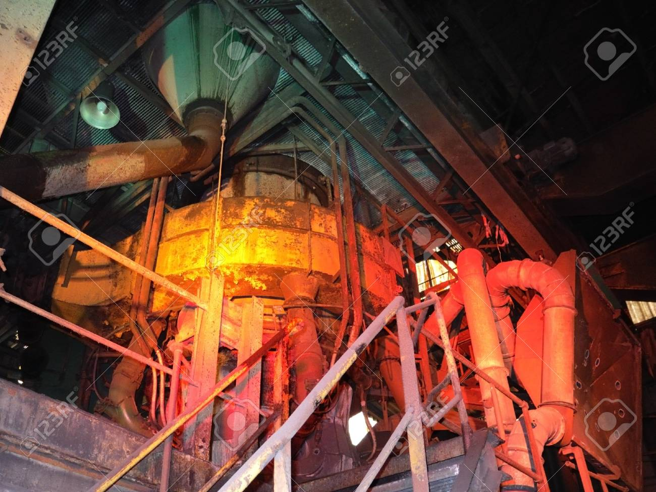 inside an old plant Stock Photo - 10321542