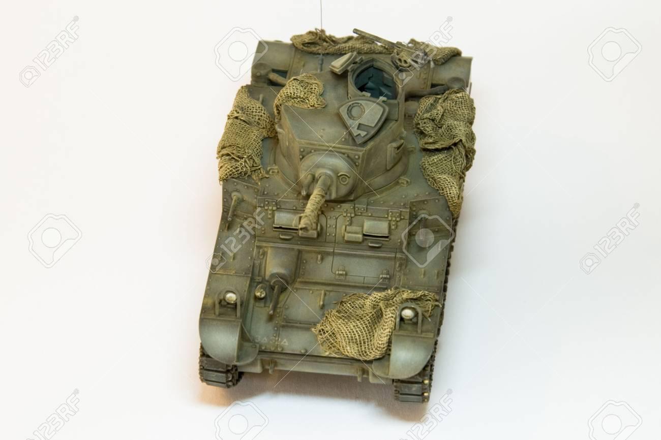 US WWII Heller Behälter Stuart III M3AI #7 Lizenzfreie Fotos, Bilder ...