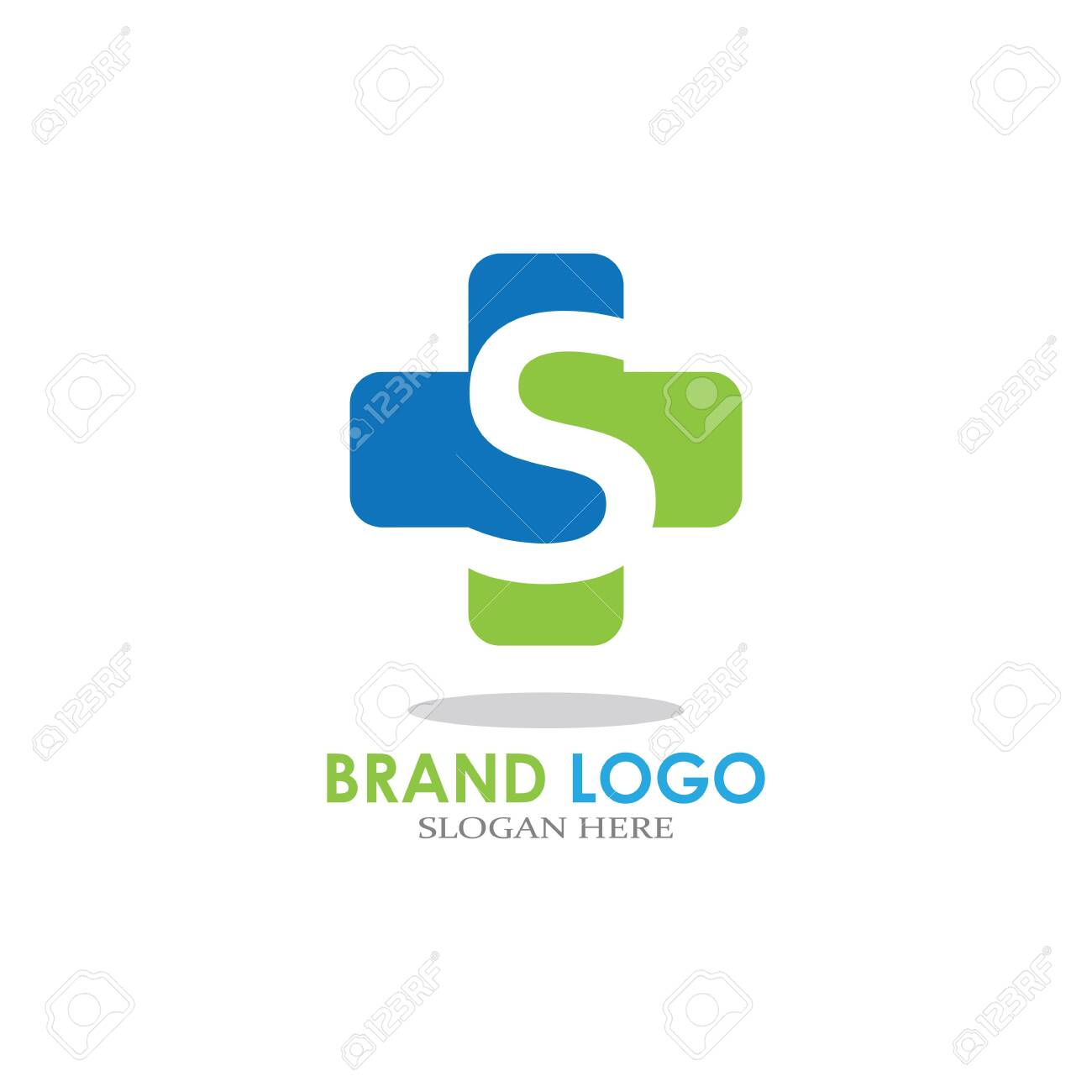 letter with Plus Hospital logo design vector - 152810717