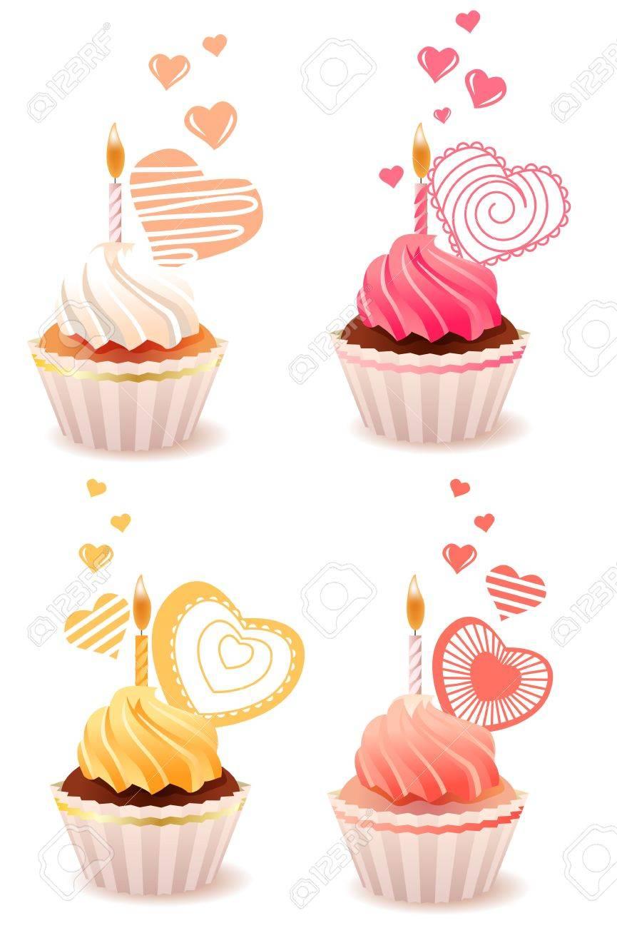 Sweet small cakes Stock Photo - 8659208