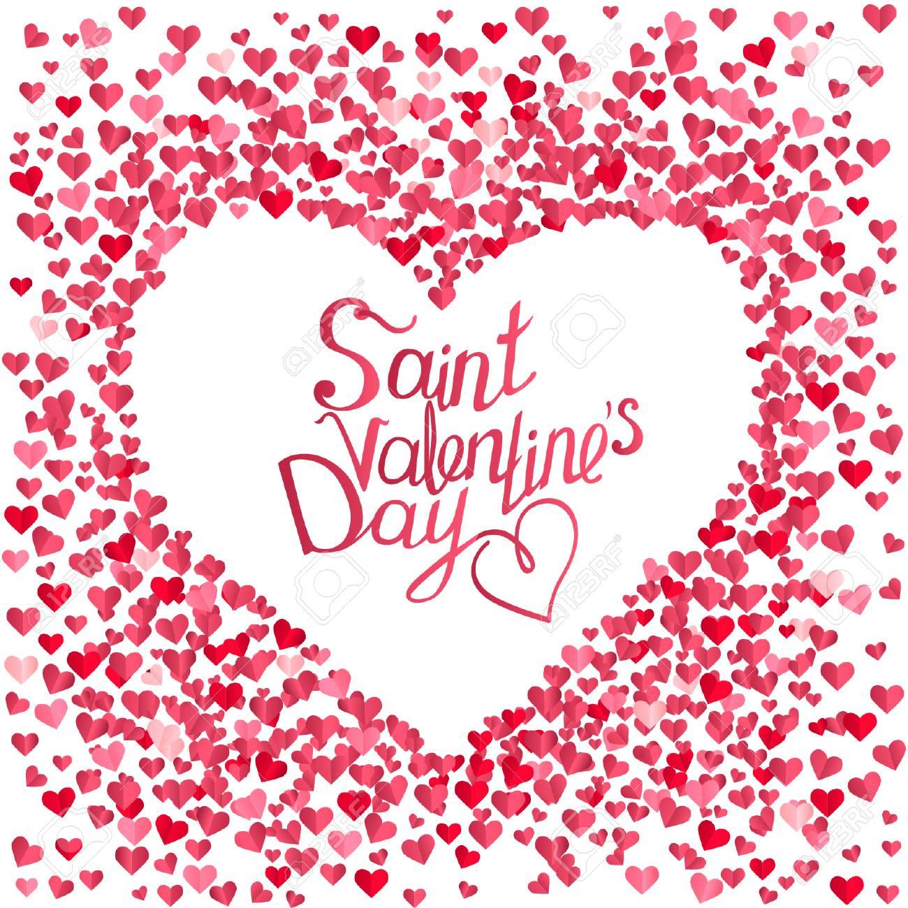 Rose Tarjeta De Felicitación Con La Frase San Valentín Plantilla Para Diseño Festivo Anuncios Publicidad