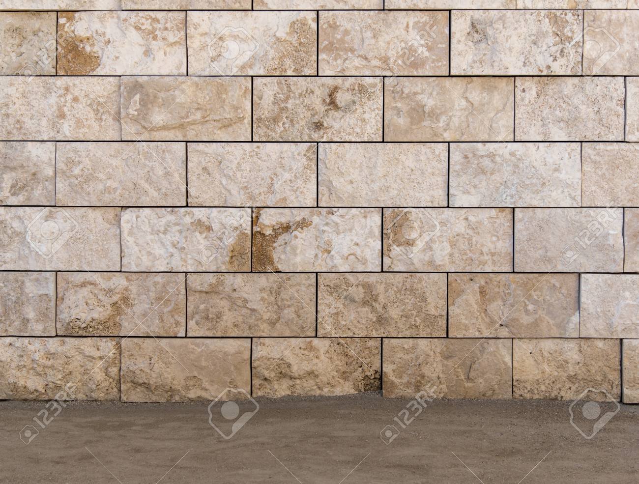 Rustic scratched concrete wall texture background - 115023923