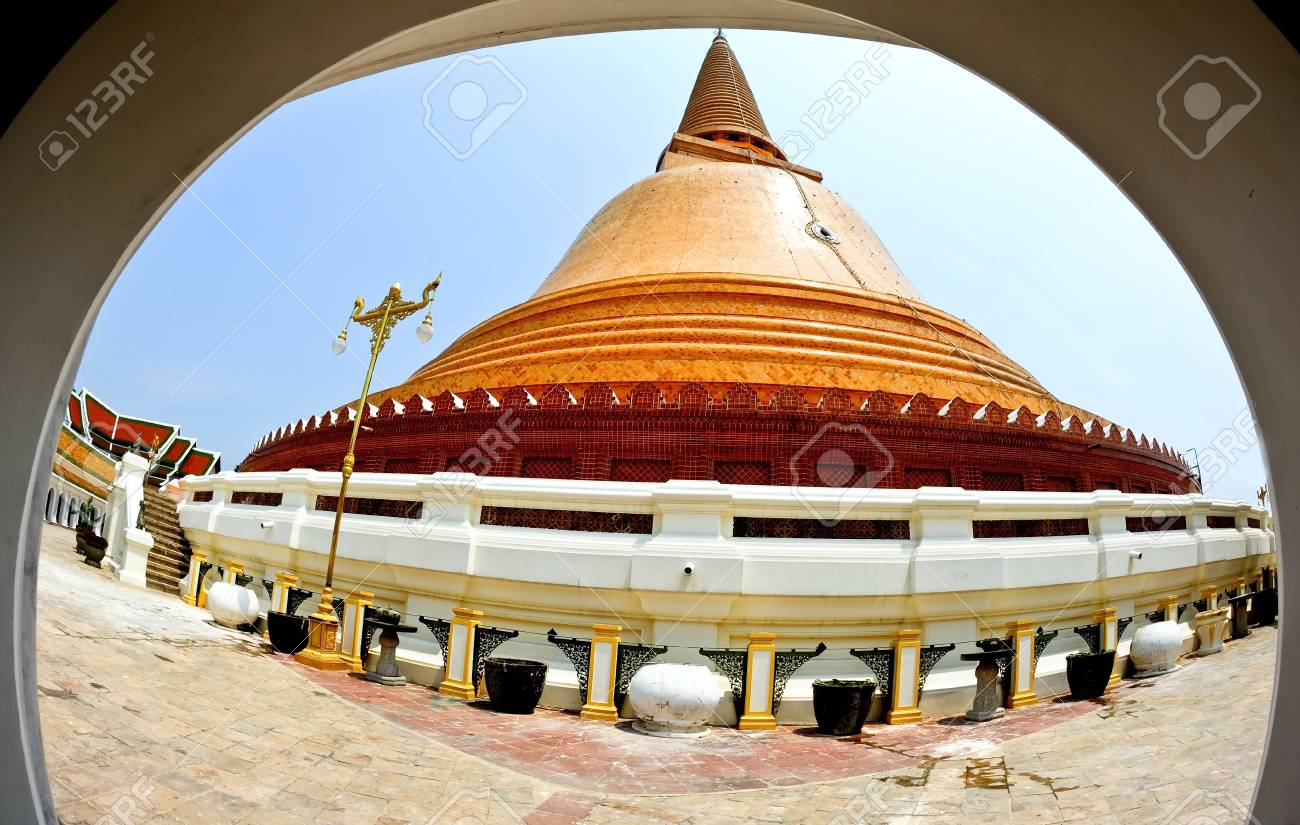 Pagoda and Church of Buddhism in Thailand Stock Photo - 15458422