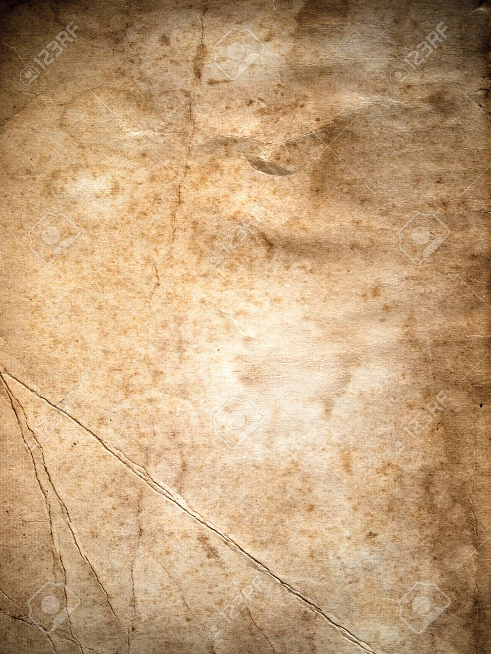 Texture of Old paper background vertical Stock Photo - 7860469
