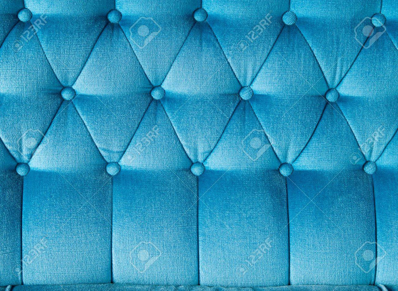 Texture Of Blue Fabric Vintage Sofa For Background Stock Photo   10819921