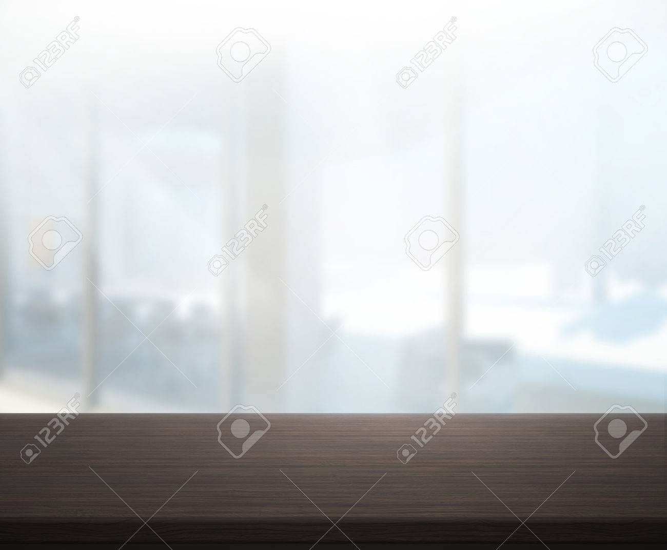 Kitchen Table Top Background table top and blur office of background stock photo, picture and