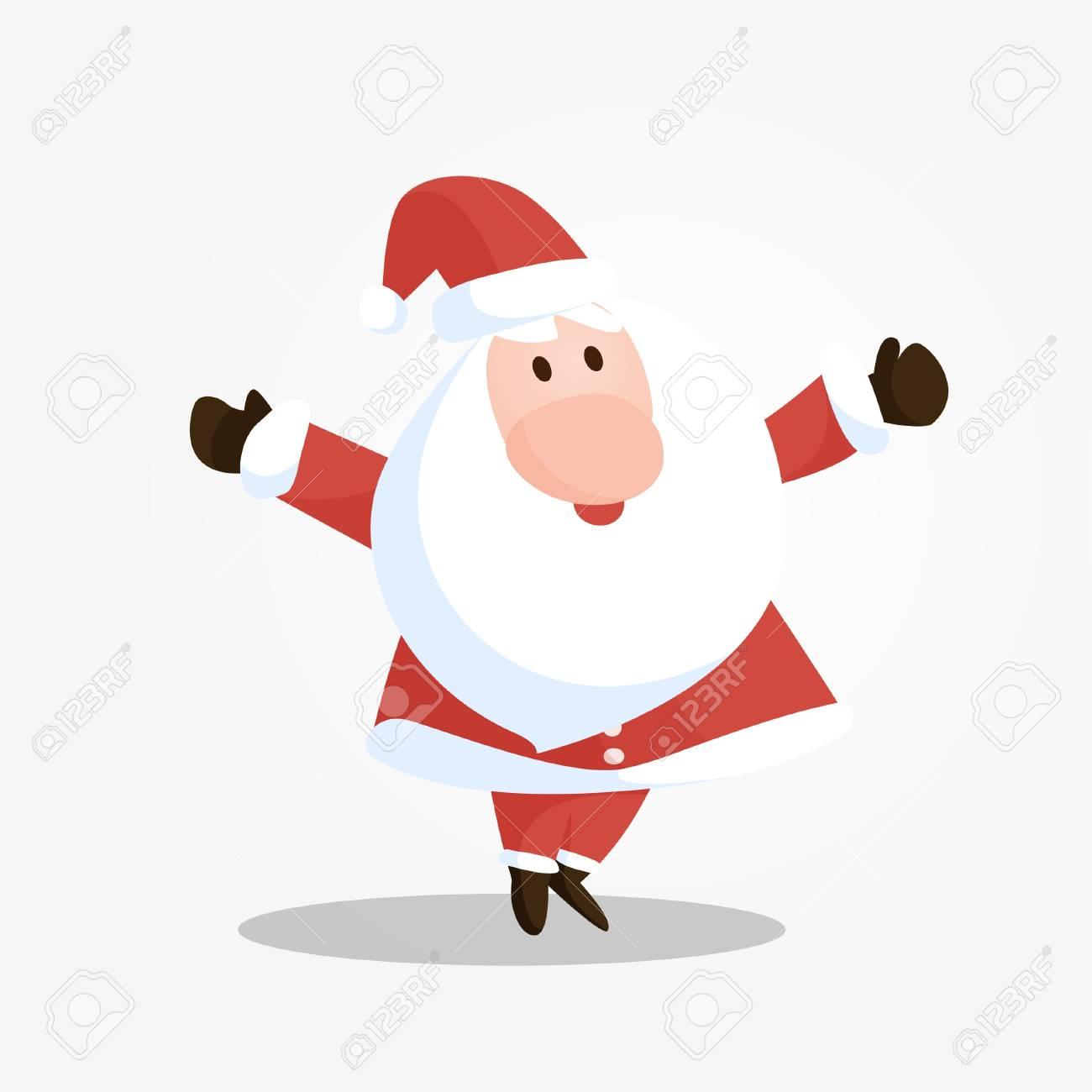 Smileing Santa Stock Vector - 16641772