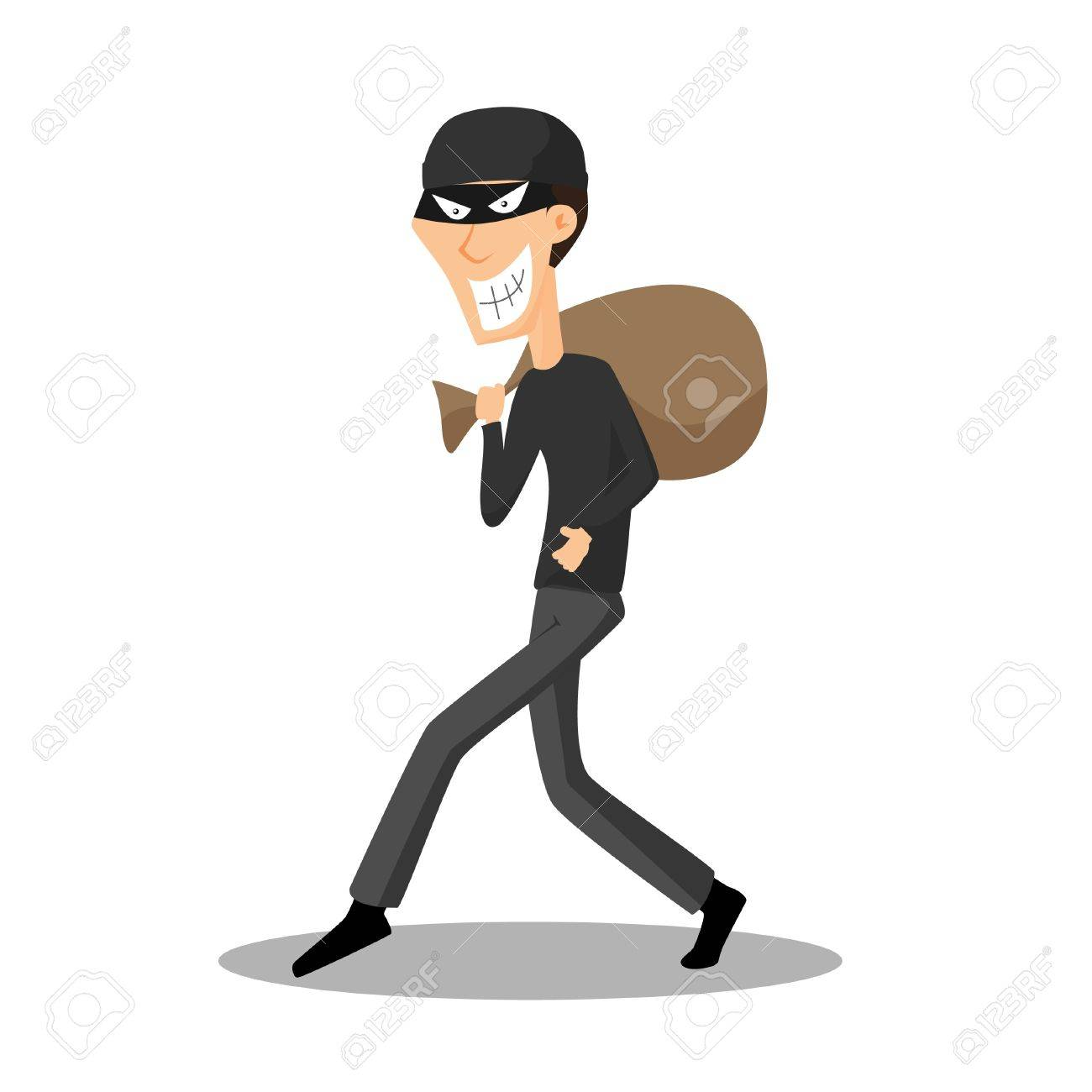 Thief Stock Vector - 16641754